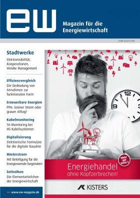 Titelseite_ew_Magazin_fuer_die_Energiewirtschaft